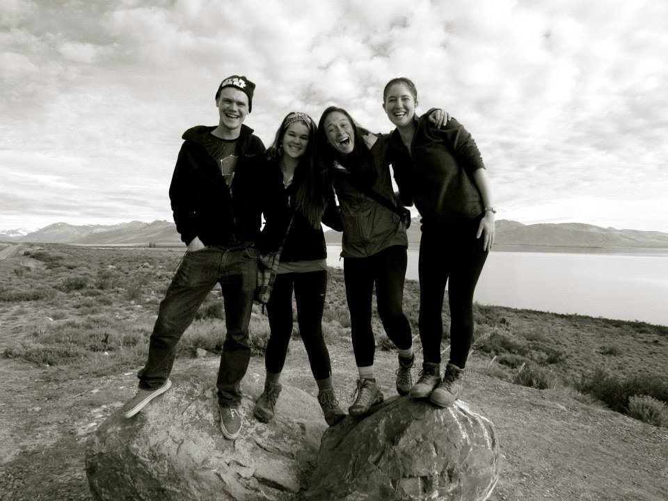 Karl, me, Alli, and Emmaray in Patagonia